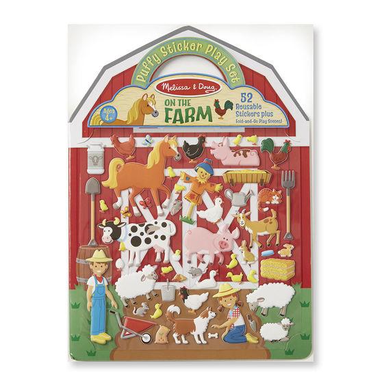 Puffy Sticker Play Set – On the Farm