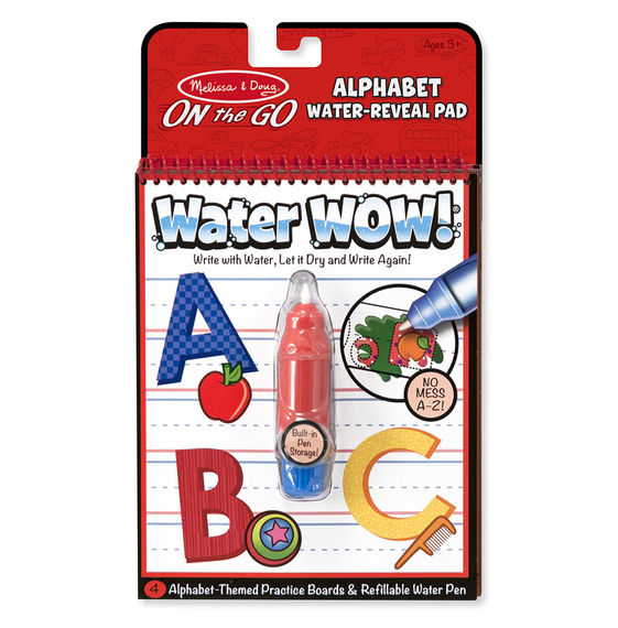 Water Wow! Alphabet – ON the GO travel activity
