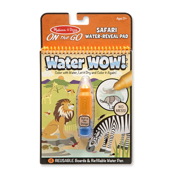 Water Wow! Safari – ON the GO travel activity!